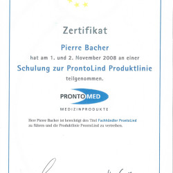 2008-11-01 Schulung ProntoLind