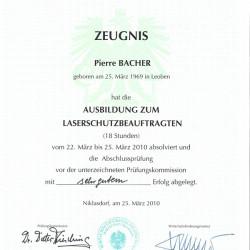 2010-03-22 Ausbildung Laserschutzbeauftragter