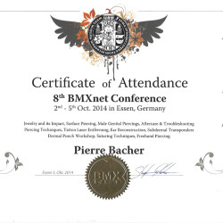 2014-10-02 Certificate of Attendence